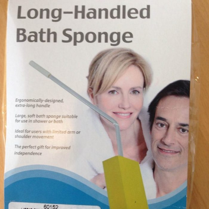 BATH SPONGE - LONG HANDLED