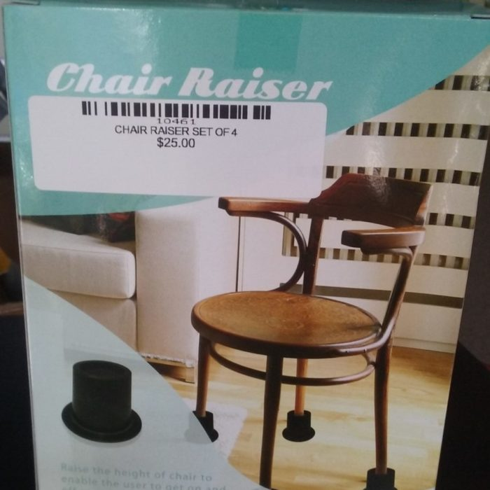 CHAIR RAISER