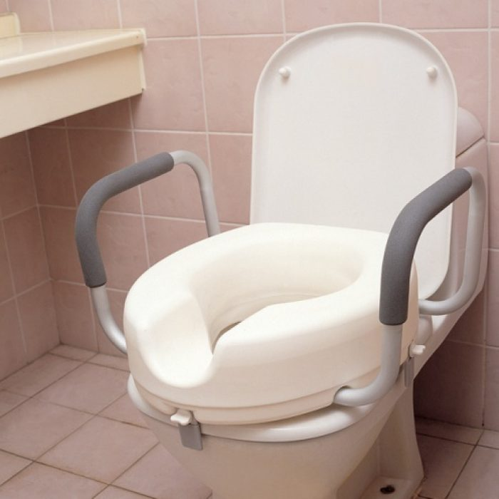 Toilet Seat with Arms 4 inches