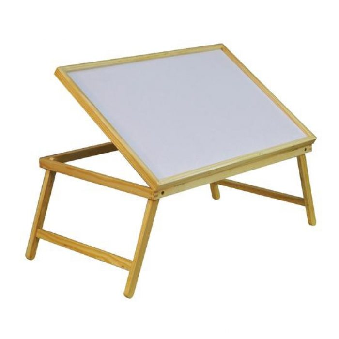 WOODEN BED TRAY FOLDING AND ADJUSTABLE