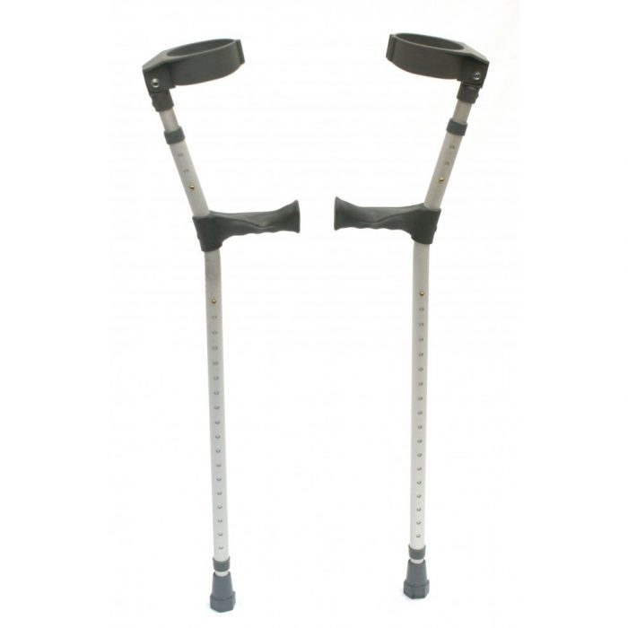Crutches Heavy Duty Short to Medium